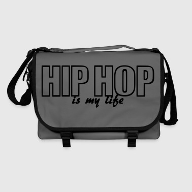 hip hop is my life - Bolso de bandolera