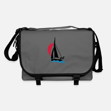 Dinghy Dinghy with spinnaker - Shoulder Bag