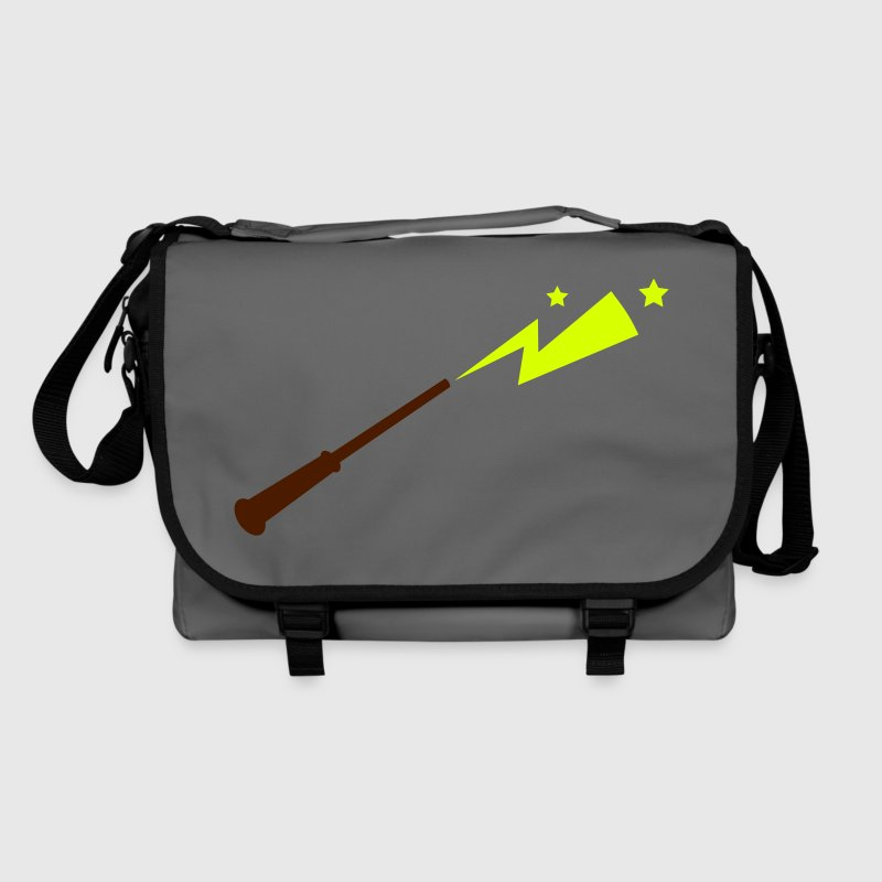 simple magic wand with sparks and stars magical!  - Shoulder Bag