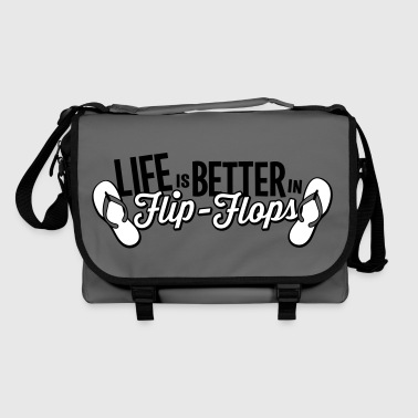 Life is better in Flip-Flops - Shoulder Bag