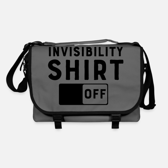 Hidden Bags & Backpacks - Invisibility Shirt Off - Shoulder Bag graphite/black