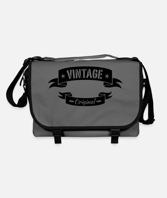 Tattoo Bags & Backpacks - vintage - Shoulder Bag graphite/black