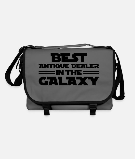 Antique Bags & Backpacks - antique dealer best in the galaxy copy - Shoulder Bag graphite/black