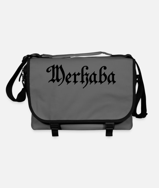 Bih Bags & Backpacks - merhaba - Shoulder Bag graphite/black