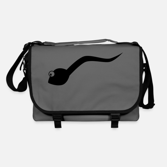 Cum Bags & Backpacks - Sperm - Shoulder Bag graphite/black
