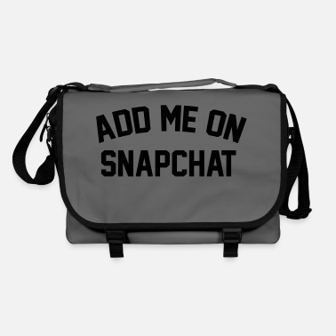 Shop Snapchat Shoulder Bags online | Spreadshirt
