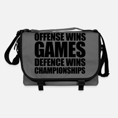 Defence Defence Wins - Shoulder Bag