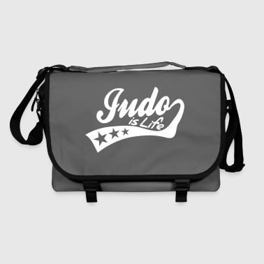 judo is life - retro - Bolso de bandolera