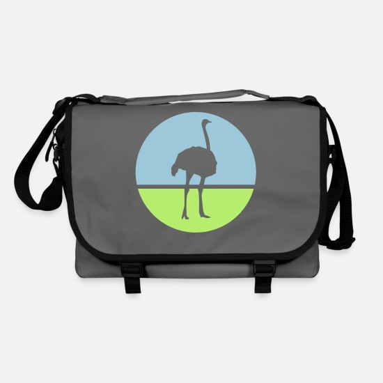 Flightless Bird Bags & Backpacks - Emu - Shoulder Bag graphite/black