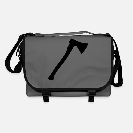 Axel Bags & Backpacks - Ax - axe - weapon - Shoulder Bag graphite/black