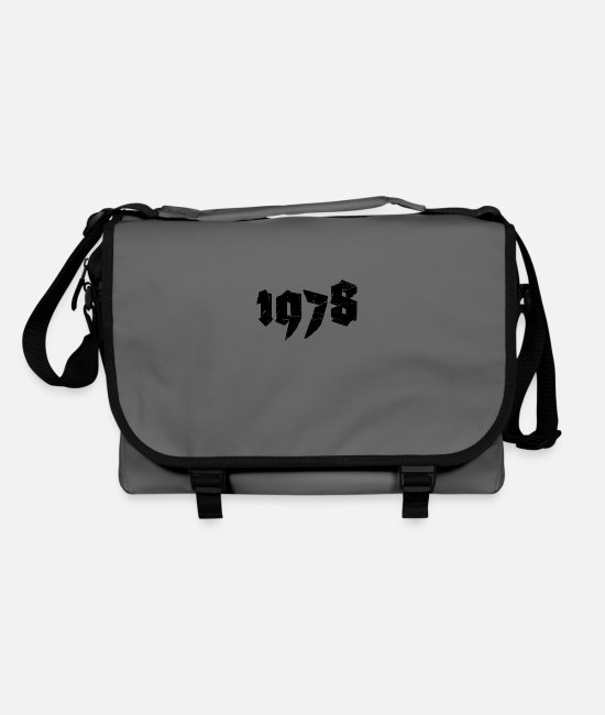 Number Bags & Backpacks - Jahr 1978 - Shoulder Bag graphite/black