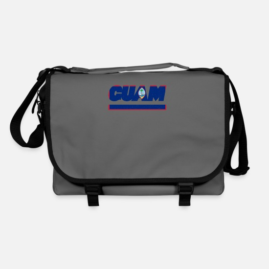 Patriot Bags & Backpacks - Guam flag flag - Shoulder Bag graphite/black