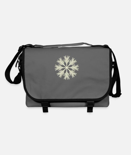 Symbol  Bags & Backpacks - Fractal flake - Shoulder Bag graphite/black