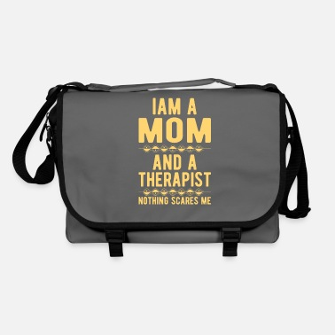 Suicidal Counselor Therapist Mom Therapist: Iam a Mom and a Therapist - Shoulder Bag