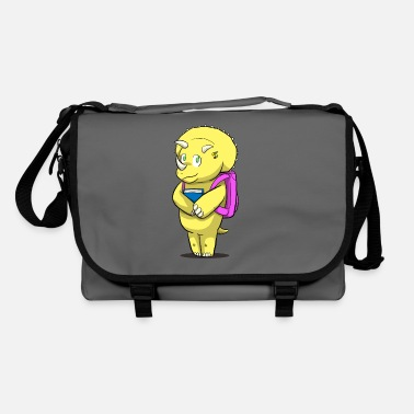 School Dino schoolbag school enrollment - Shoulder Bag
