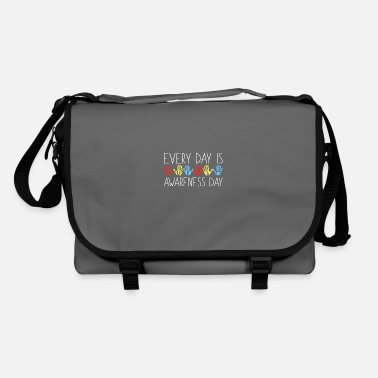 Autism Awareness Day Every Day Is Autism Awareness Day - Shoulder Bag