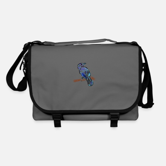 Feather Bags & Backpacks - Blue Jays - Shoulder Bag graphite/black