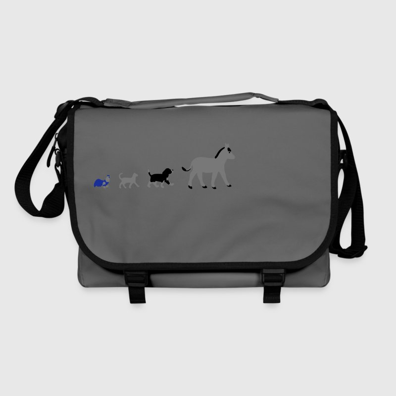 Dog, cat, cock, donkey - Shoulder Bag