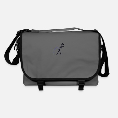 Stick Man Stick man peeing - Shoulder Bag