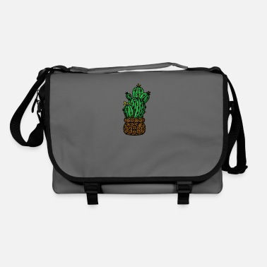 Small cactus gift idea plant - Shoulder Bag
