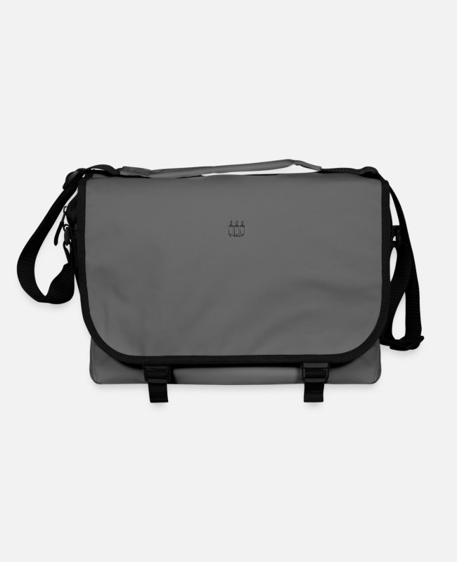 Santa Bags & Backpacks - 3 advent - Shoulder Bag graphite/black