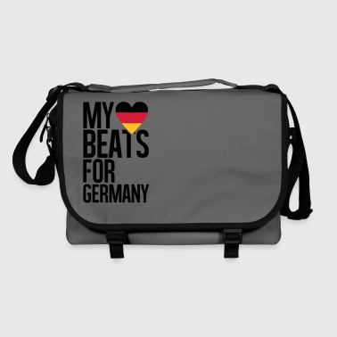 MY HEART BEATS FOR GERMANY - Umhängetasche