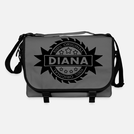 Birthday Bags & Backpacks - DIANA star original 1c - Shoulder Bag graphite/black