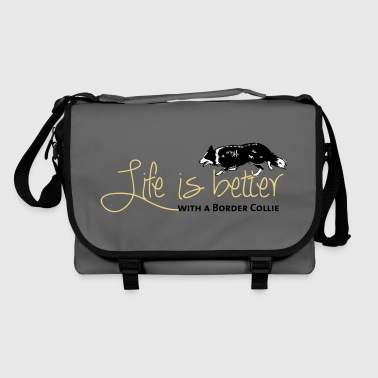 Life is better - Border - Shoulder Bag