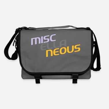 Miscellaneous miscellaneous english gift slogan colored motive - Shoulder Bag