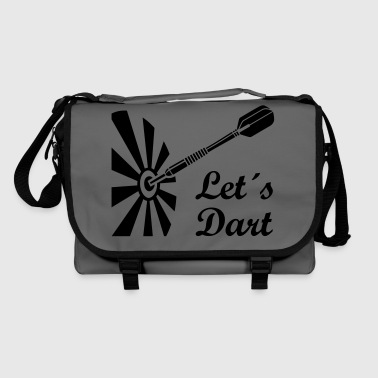 Darts   dartboard  - Shoulder Bag