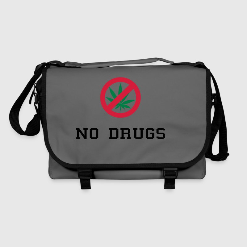 No Drugs / Say no to drugs / Cannabis / Drogen - Sac à bandoulière