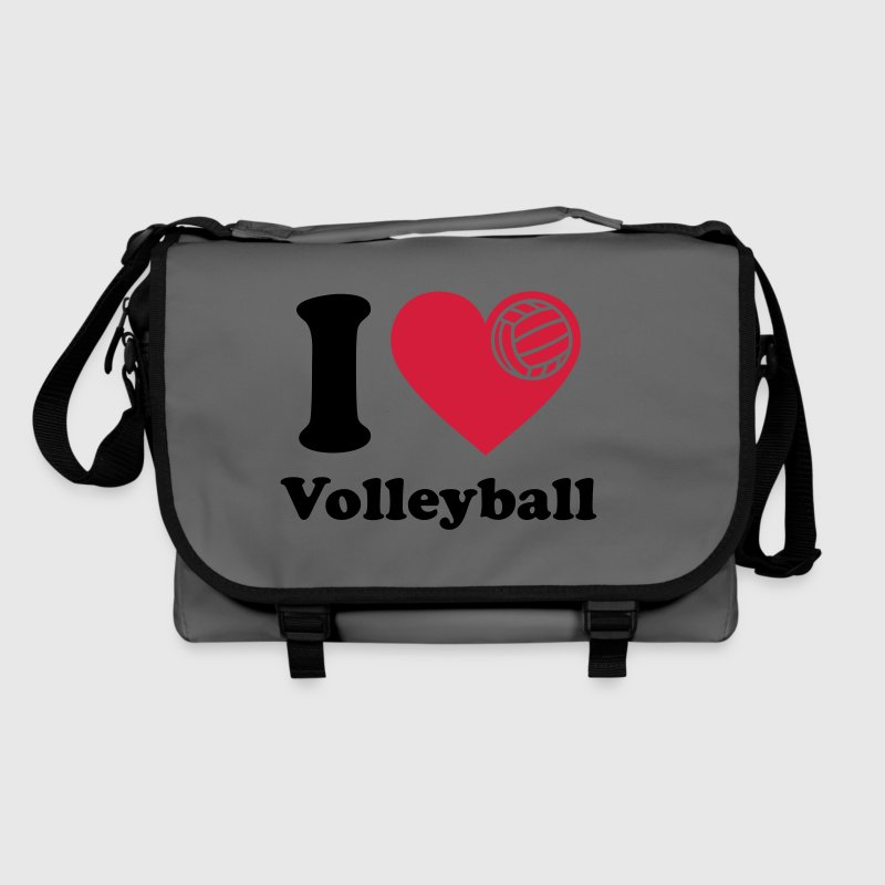 I love Volleyball Volley ball   Volleyball  - Shoulder Bag