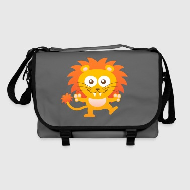 Smiling Cute Lion - Shoulder Bag