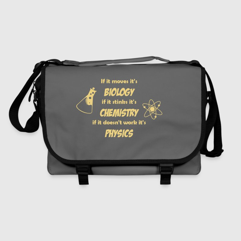 Biology, Chemistry and Physics - Shoulder Bag