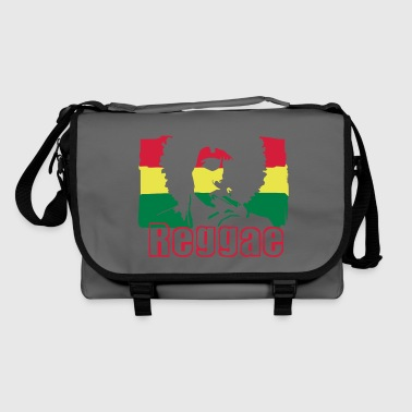 Jamaica Reggae music Jamaica's flag. - Shoulder Bag