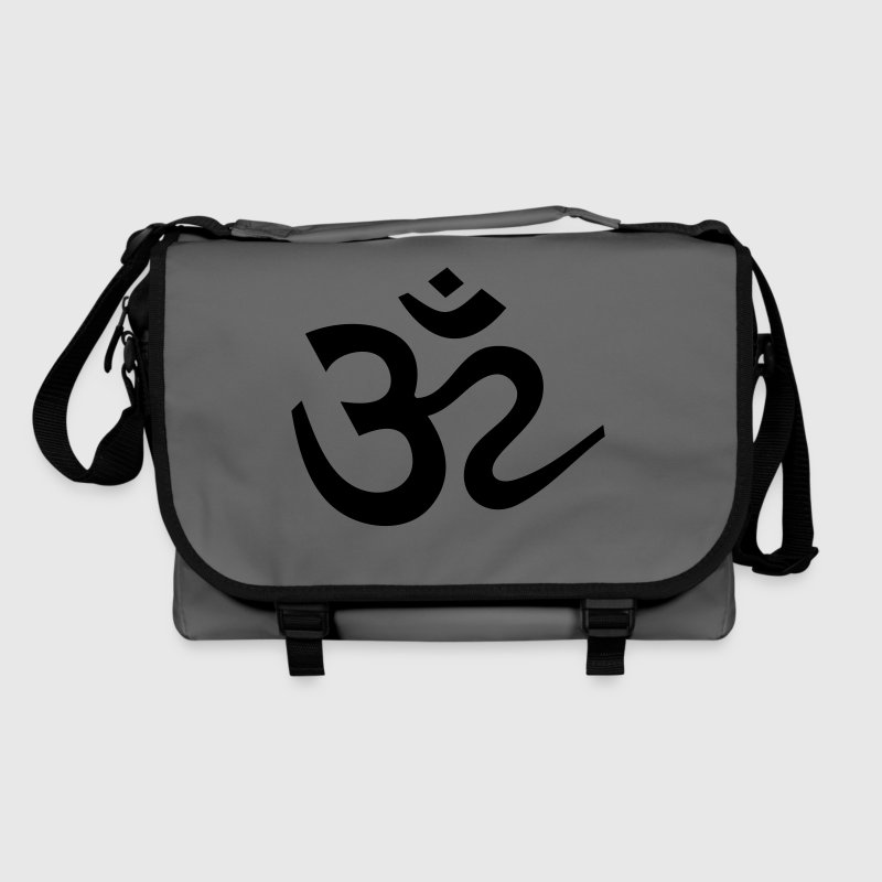 OM  Mantra Meditation Sanskrit Symbol Buddha Yoga - Shoulder Bag