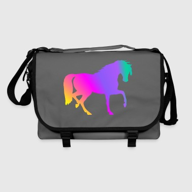 Knickers Rainbow Horse - Shoulder Bag
