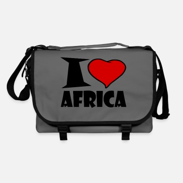 Africa Africa - Africa- I love Africa - Shoulder Bag