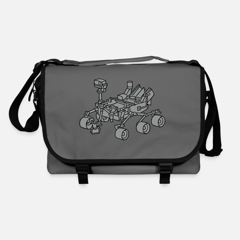 Mars Bags & Backpacks - Curiosity, the Marsrover 2 - Shoulder Bag graphite/black