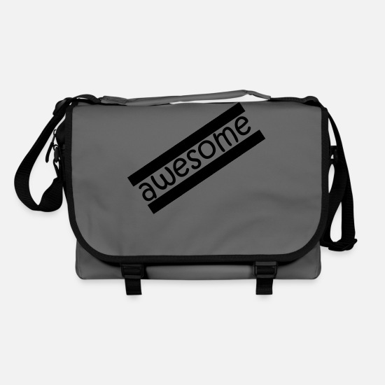 Awesome Bags & Backpacks - Awesome! - Shoulder Bag graphite/black
