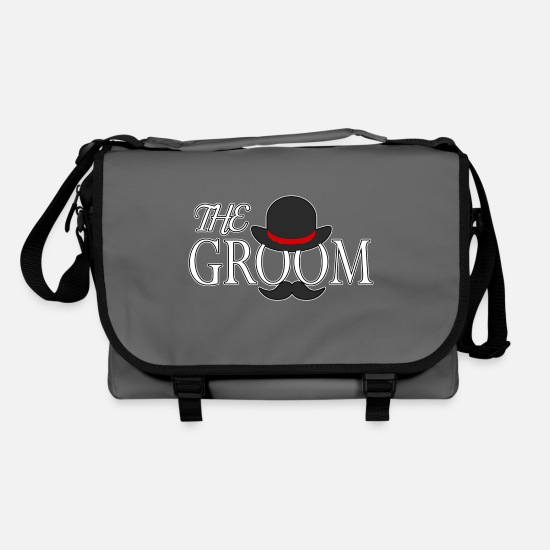 Love Bags & Backpacks - groom - Shoulder Bag graphite/black