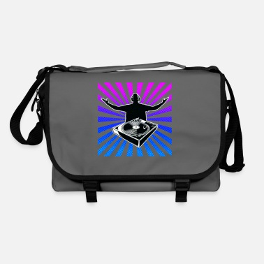 Club Music DJ. Music. Club. - Shoulder Bag