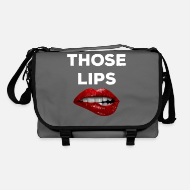Tongue Those lips - Shoulder Bag