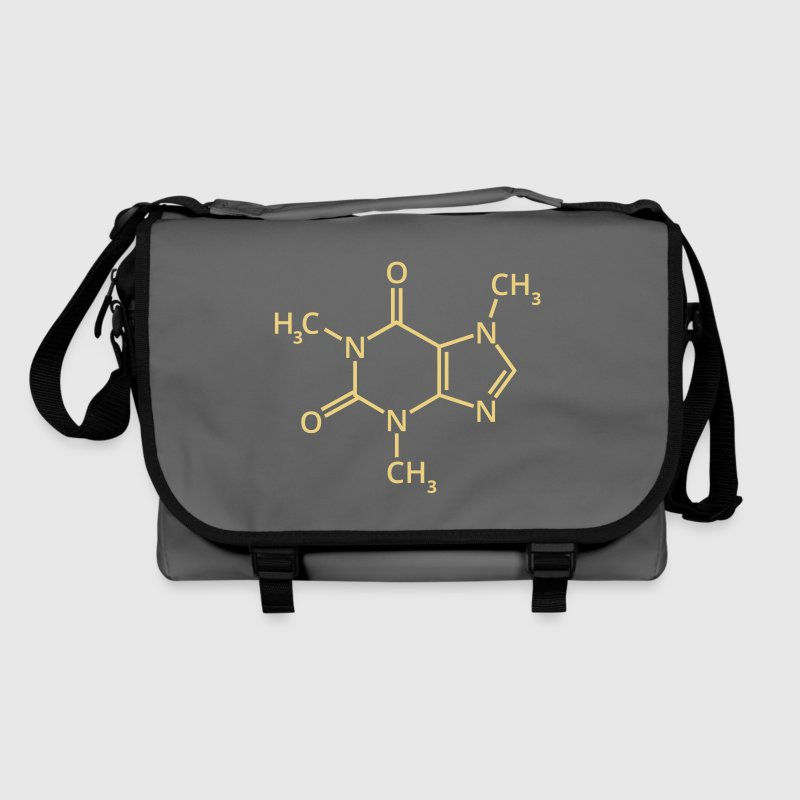 Coffee chemical formula espresso chemistry Mocha Latt - Shoulder Bag