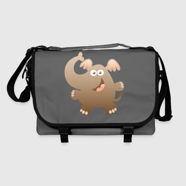 Smiling Little Elephant - Shoulder Bag
