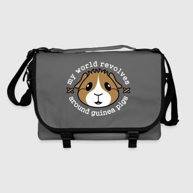 My World Revolves Around Guinea Pigs - Shoulder Bag