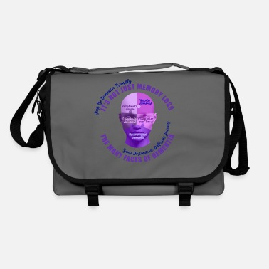 Mixed Dementia The Many Faces of Dementia - Shoulder Bag