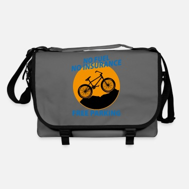 Two-wheeled No fuel no insurance free parking bike bike - Shoulder Bag