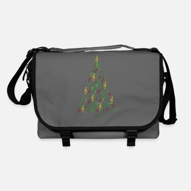Music Christmas- Christmas tree notes - Shoulder Bag