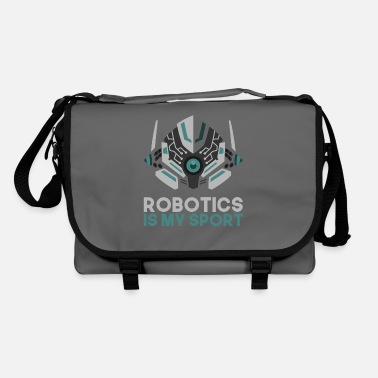 Cyborg Robot hobby cyborg technology future gift - Shoulder Bag